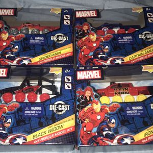 Marvel 4x4 Rebel Model Kit Bundle for Sale in Hollywood, FL