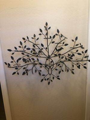 Metal votive candle wall art/decoration 33w x 24h for Sale in Chandler, AZ