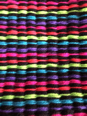 Neon handmade rug or mat for Sale in Dallas, TX