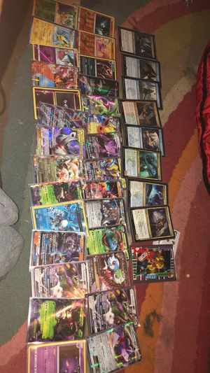 Pokemon mainly also some magic , digimon and chaotic cards for Sale in Dallas, GA