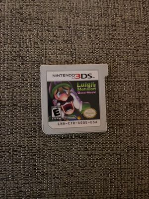 Luigi's mansion dark moon for Nintendo 3DS for Sale in Kirkland, WA