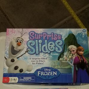 Frozen surprises and slides game and puzzle for Sale in Phoenix, AZ