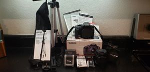 Canon EOS Rebel T6 Bundle for Sale in San Diego, CA