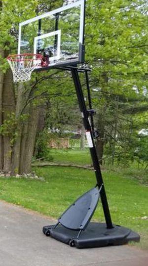 New!! Basketball hoop, portable basketball hoop, angled basketball hoop for Sale in Phoenix, AZ
