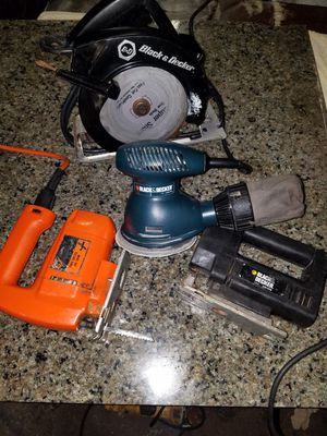 Black n Decker for Sale in Tampa, FL