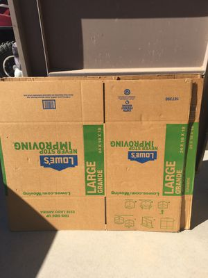 24x18x18 Moving boxes for Sale in Phoenix, AZ