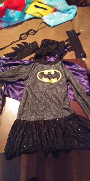 Bat girl costume size 5-6 small for Sale in Allen, TX