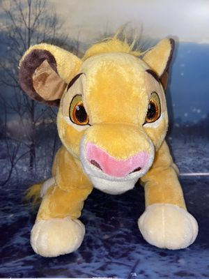 "Disney Parks Young Simba 16"" plush toy for Sale in Long Beach, CA"