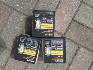 Phillips 100w Rough Service Bulbs (6 Bulbs) for Sale in Cedar, MI