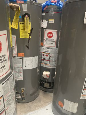 New Gas water heater Ready for you with Installation and delivery 🚚✅ for Sale in San Fernando, CA