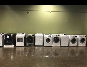 Washer/dryer !! Mix and match any units!!! Liquidation event today!!! Huge discounts !! Act fast!! 😃😃😀😃😃😀👍🏡😃😃😃👍🏡 for Sale in Addison, TX