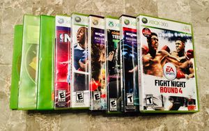 Lot of 9 Games For-sale XBOX-360 for Sale in Villa Rica, GA