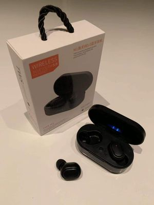 New in box android or IOS 5.0 M1 Wireless Headset Bluetooth Headphone Earphone works with apple include charging pod for Sale in Covina, CA
