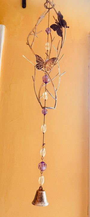 Citrine and Amethyst Crystal windchime for Sale in HUNTINGTN STA, NY