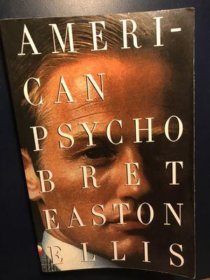 American Psycho Book for Sale in Glendora, CA