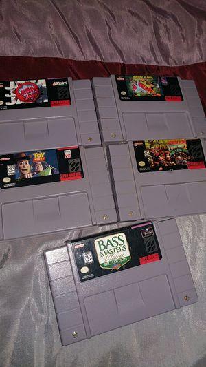 Nintendo super Nintendo SNES for Sale in Sacramento, CA