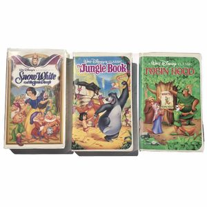 Disney Bundle 3 VHS Movies for Sale in Azusa, CA