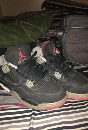 Jordan retro 4 for Sale in Fayetteville, NC