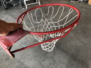 Basketball hoop with net for Sale in Lake Elsinore, CA