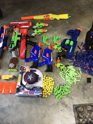 AWSOME NERF GUNS WITH TONS OF AMMO!!!!!!! for Sale in Mount Juliet, TN