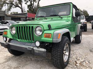 2004 Jeep Wrangler SE for Sale in Tampa, FL