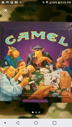 Camel Joe Poker Set in Collectors Tin for Sale in Wichita, KS