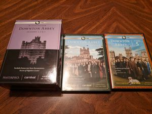 Downton Abbey seasons 1 - 5 DVD box set for Sale in Brandon, FL