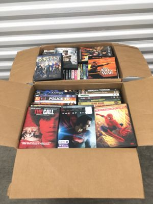 4 Boxes of DVD Movies for Sale in Renton, WA