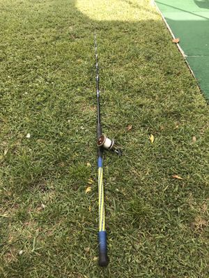 Penn senator 3/0 on custom rod for Sale in Davie, FL