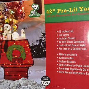 Snoopy Christmas Dog House Light for Sale in Ocoee, FL