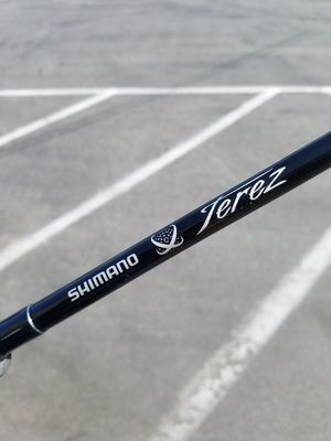 Shimano Terez TZC80HBLK fishing Rod good Condition for Sale in Norwalk, CA
