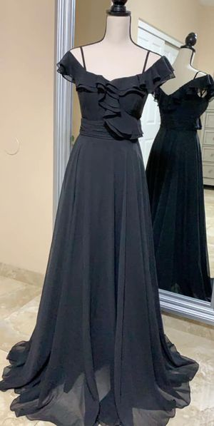 Black Gown | dress / wedding / party / event / maxi / classy & elegant for Sale in Phoenix, AZ