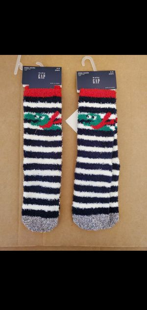 Baby gap 2 pairs of cozy socks for size 4 - 5 years NEW for Sale in Falls Church, VA