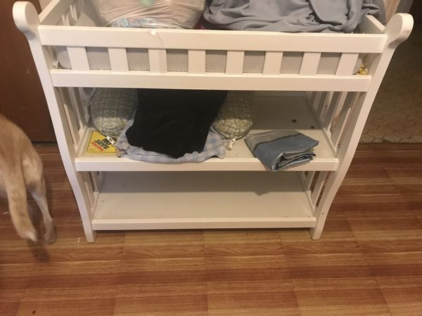 IKEA changing table with pad