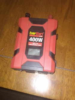 EverStart Plus 400 Watt Inverter for Sale in Spokane,  WA