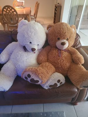 2 teddy bears for Sale in Cape Coral, FL