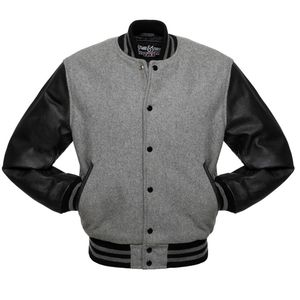 Display Strauss leather and wool letterman's Jacket..Free shipping !! for Sale in Durham, NC