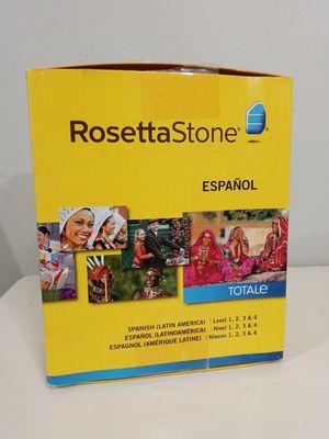 Rosetta Stone Spanish Levels 1-4 for Sale in Palmetto, FL