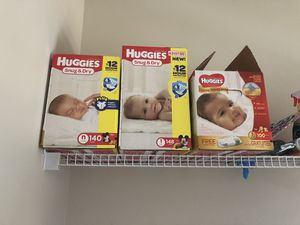 Unopened Huggies diapers for Sale in Toms River, NJ