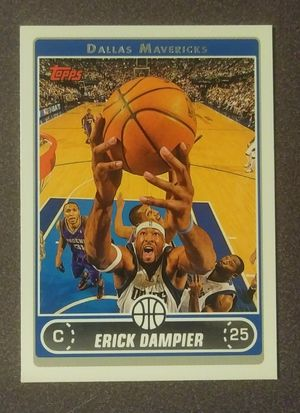 2005 2006 Erick Dampier Topps Dallas Mavericks #136 Basketball Card Vintage Collectible Sports NBA for Sale in Salem, OH