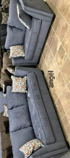 🐞BRAND NEW 🐞SPECIAL] Filone Steel Living Room Set for Sale in Columbia, MD