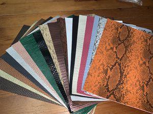 Sintetic leather 18 pcs for Sale in Auburn, WA