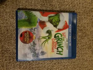 How The Grinch Stole Christmas Blu Ray for Sale in Rome, GA