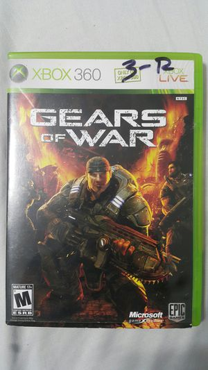 GEARS OF WAR FOR XBOX 360 (#1) for Sale in Miami Gardens, FL