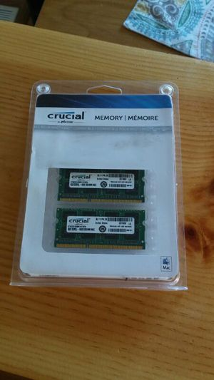 16 gig ( 2- 8 gigs ) memory kit for mac for Sale in Silver Spring, MD