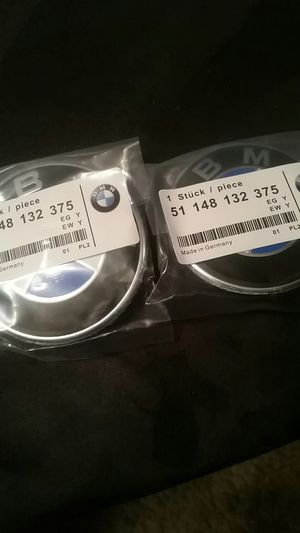 82mm 74mm hood trunk badge set bmw for Sale in Coram, NY