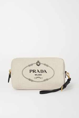 Authentic Brand New!! Prada wristlet/cosmetic pouch for Sale in Hazard, CA