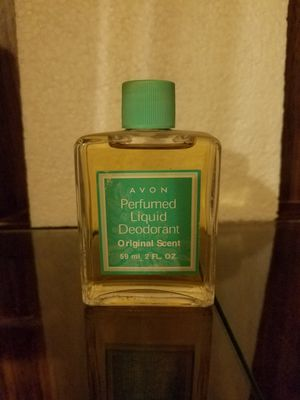 Avon perfumed liquid deodorant Original Scent please go to my page and see the other items that I have listed thank you for your interest for Sale in Tucson, AZ