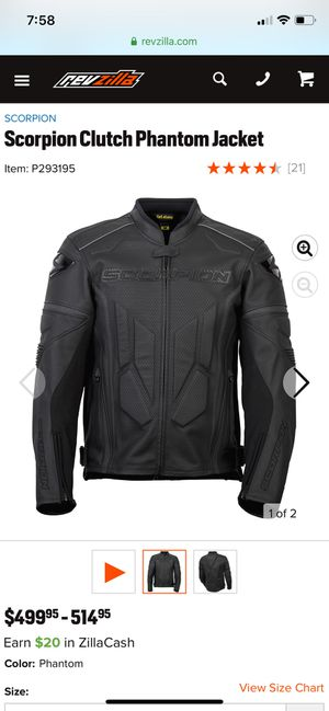 Leather Motorcycle Jacket for Sale in Orlando, FL