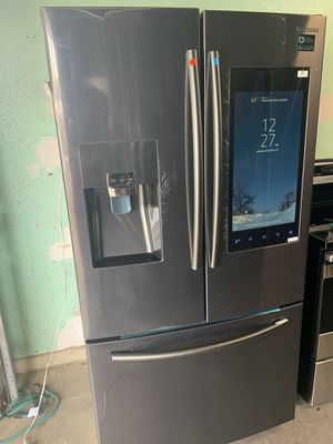 Samsung fridge big screen $1550 free delivery for Sale in Dallas, TX
